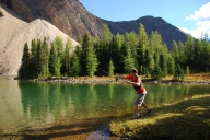 fishing_lake_shore_Kananaskis Country_6