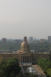 Smoke from wildfires in Washington drift into the capital region – August 27, 2017
