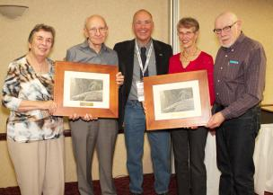 PPA Achievement Award - Marion and Jack Whitworth - Margaret and Menno Froese