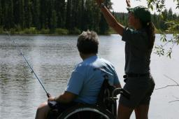 Accessible fishing